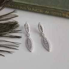 Joulberry White Diamond Megan Earrings