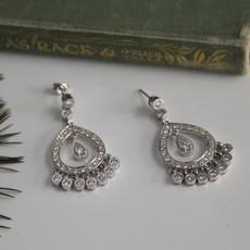 White Gold Diamond Catriona Earrings