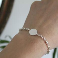 Silver Olivia Bracelet