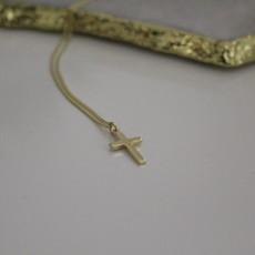 MADISON Gold Phoebe Cross Necklace