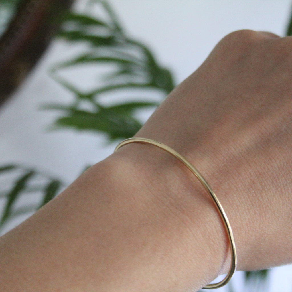 Joulberry Gold infinity Cuff Bangle