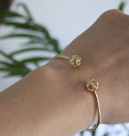 Joulberry Gold infinity Cuff Bangle