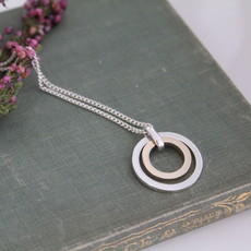 Silver and Gold In2you Necklace