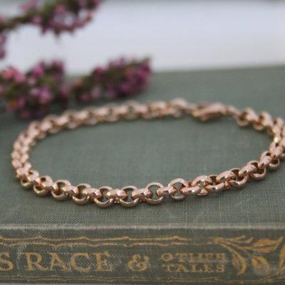CASSIDY Rose Gold Kensington Bracelet
