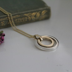 Gold and Silver In2you Necklace
