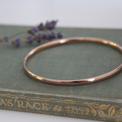 Joulberry Rose Gold Solar Bangle