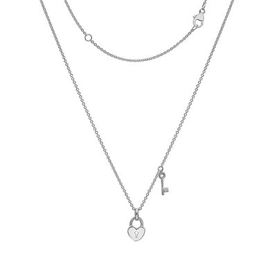 Joulberry Silver Polly Locket Necklace