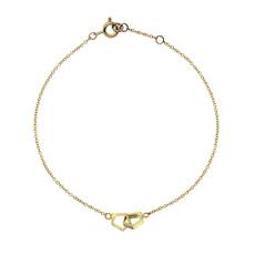 Joulberry Gold Geo Infinity Bracelet