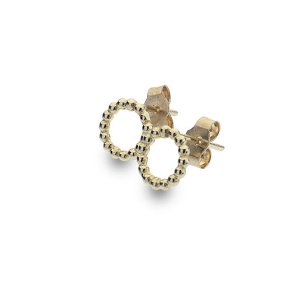 BOHO Lilly Circle Beads Earrings