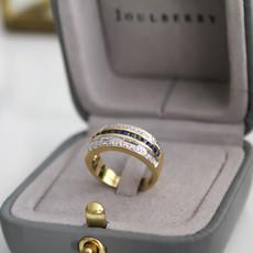 TATE Marina Sapphire and Diamond Ring