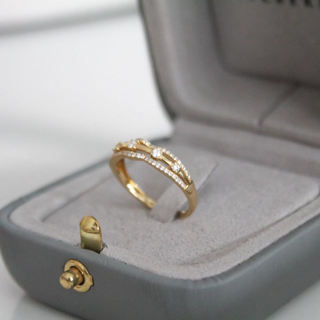 Joulberry Noorda Gold Charlotte Diamond Ring