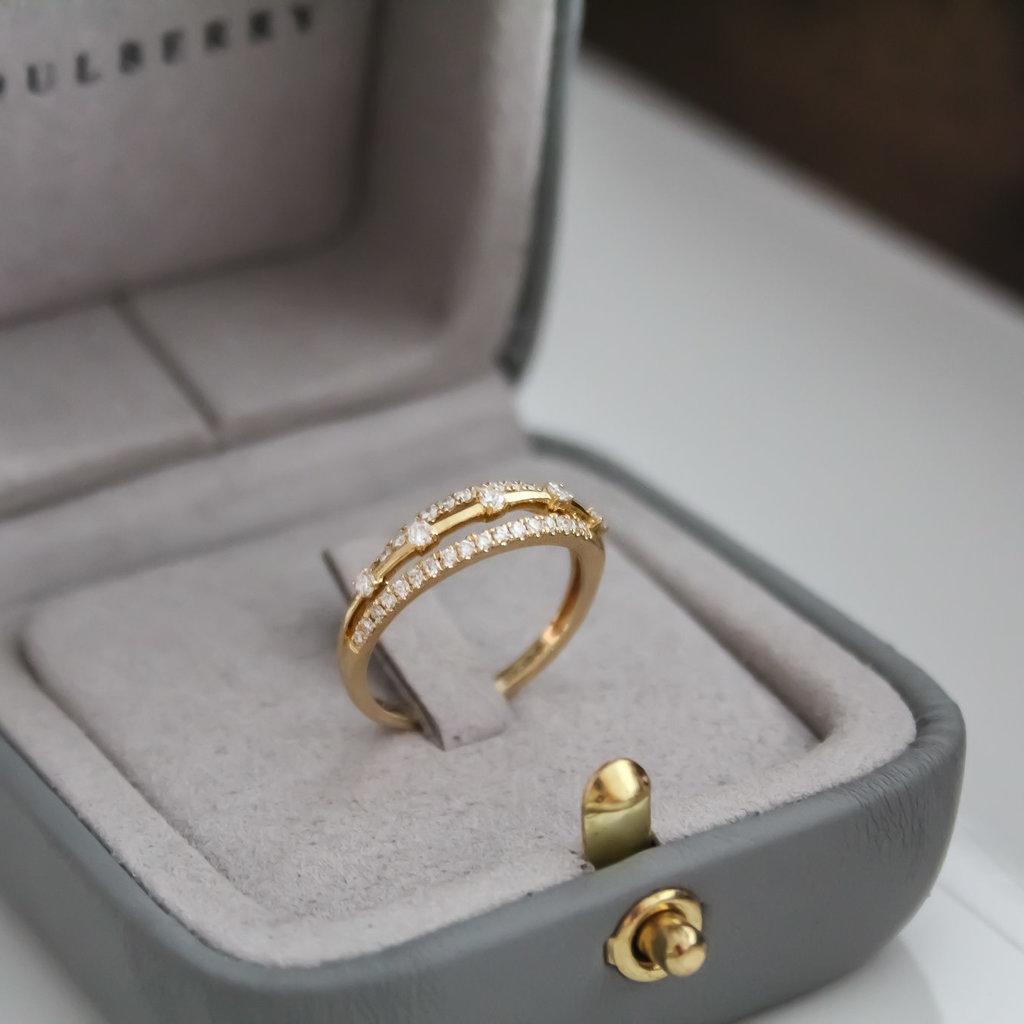 Noorda Gold Diamond Kaitlin Ring