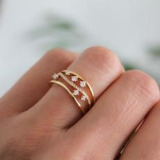 Noorda Gold Evelyn Diamond Ring
