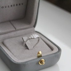 Joulberry Vogue White Gold Lady Gatsby Diamond Ring
