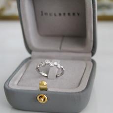 MONROE White Gold Diamond Annie Ring