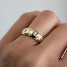 Loren Gold Samara Diamond Ring