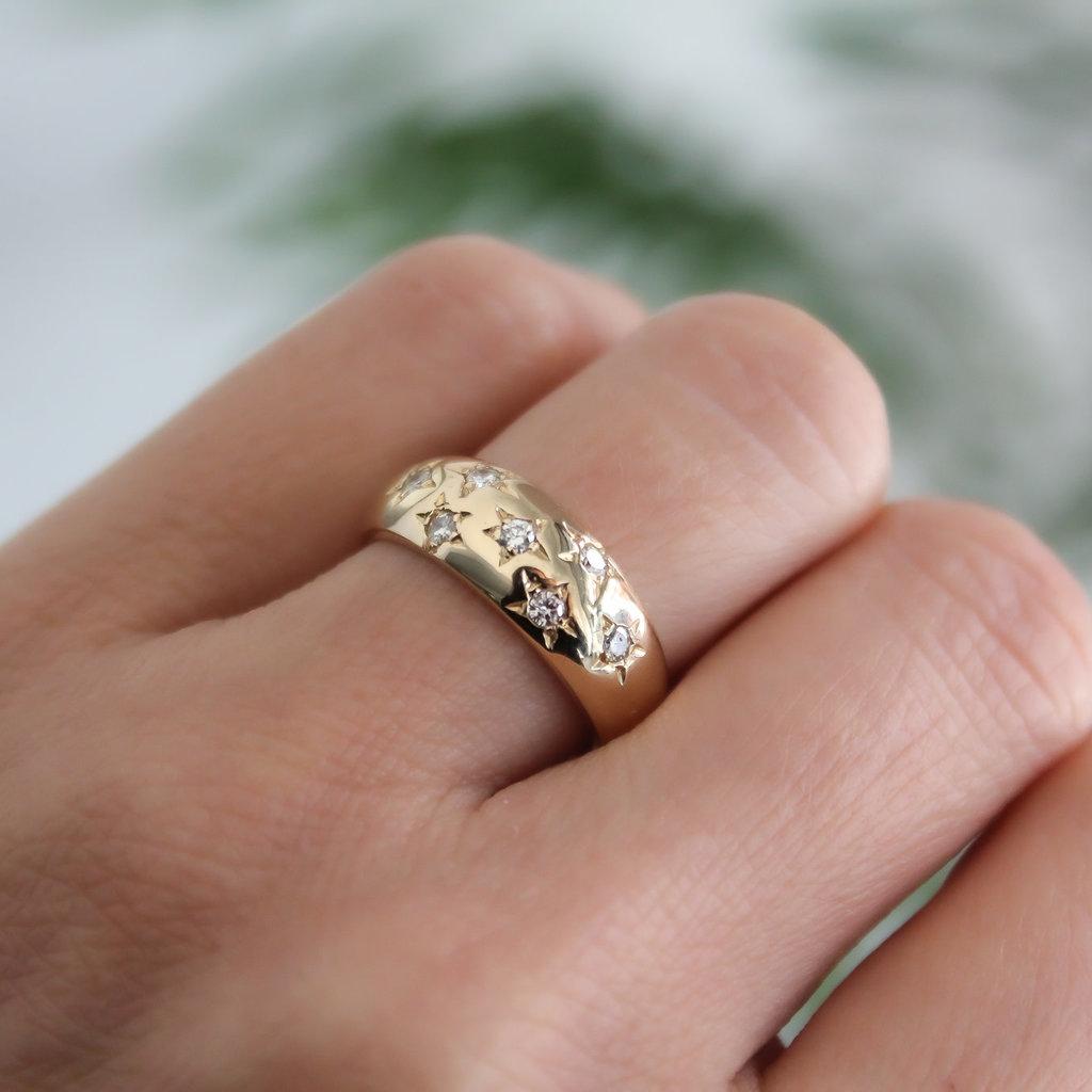 Joulberry Loren Gold Samara Diamond Ring