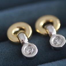 BARDOT Gold Diamond Kaleido Earrings
