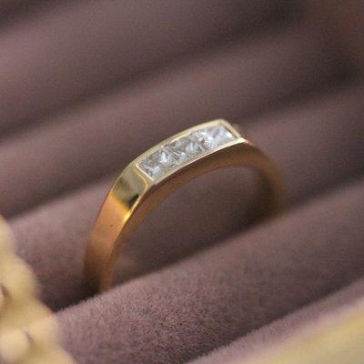 Joulberry Diamond 18 Carat Gold Letizia Ring