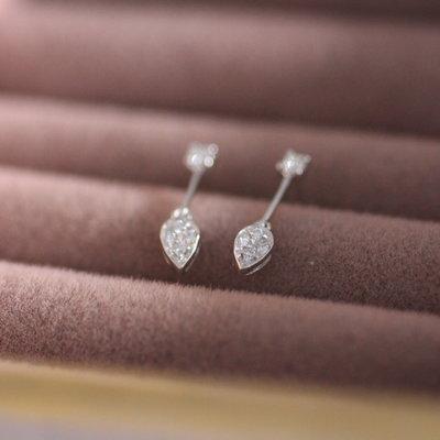 Joulberry Vogue Garland Diamond Earrings