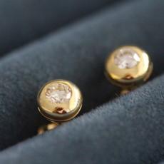 Bardot Golden Diamond Earrings