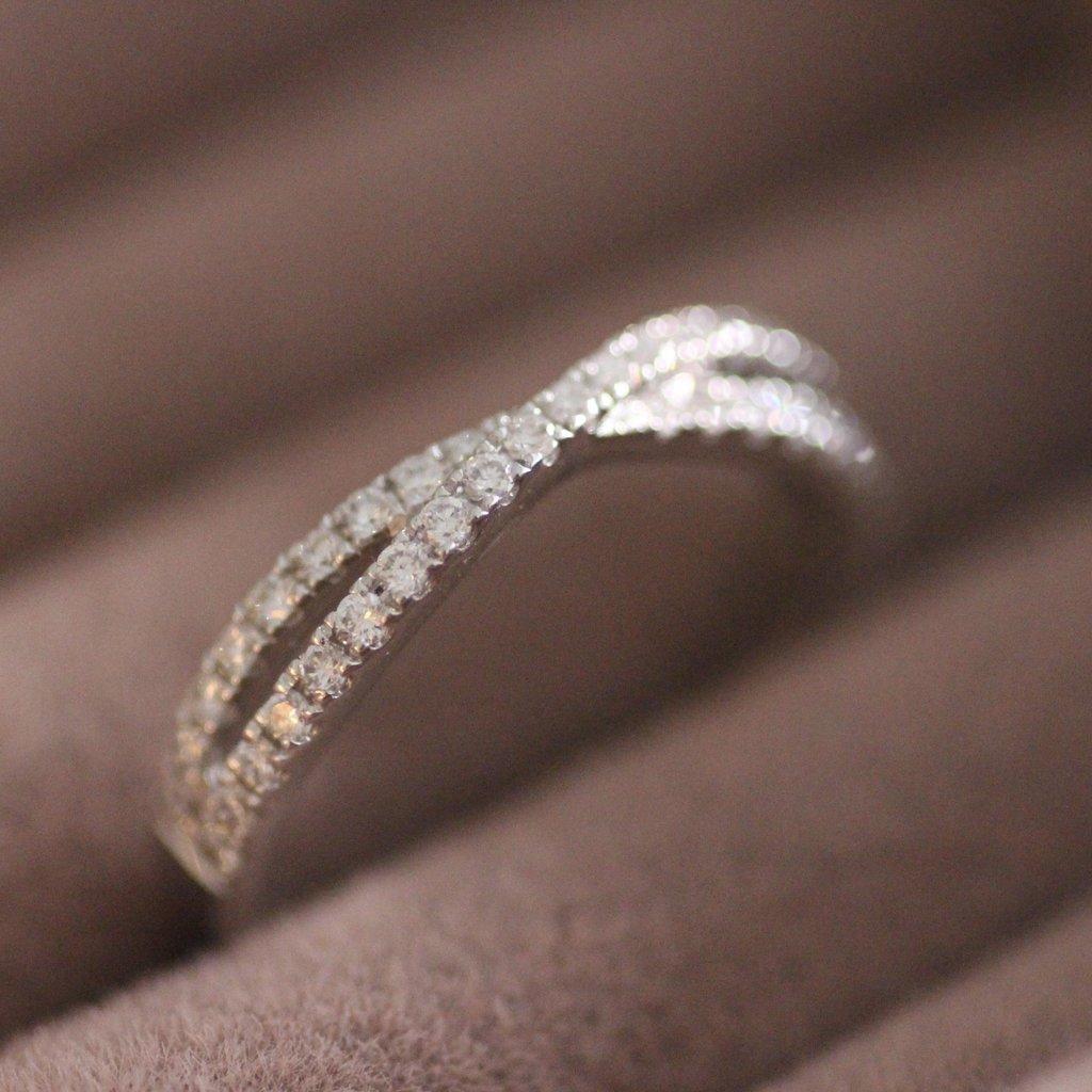 MONROE White Gold Tamara Diamond Ring