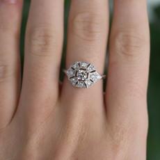 GATSBY White Gold Loretta Diamond Ring