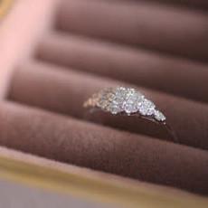 Joulberry Vogue White Gold Lady Gatsby Diamond Ring