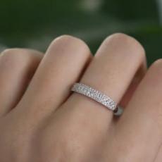 MONROE White Gold Henrietta Diamond Ring