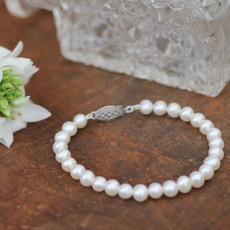 MADISON White Freshwater Pearl Bracelet