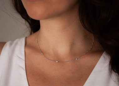 White Gold Necklaces