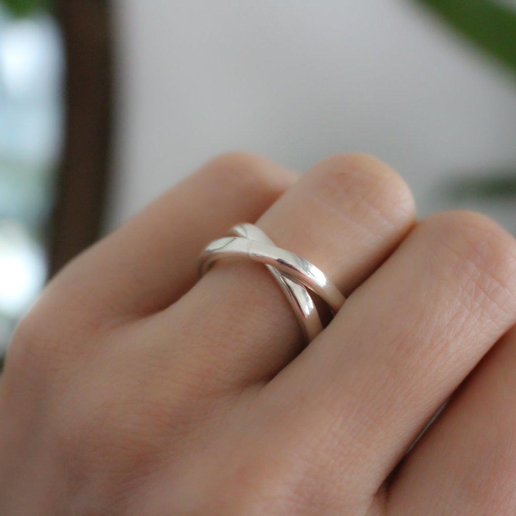 Joulberry Amor Silver Sophia Ring