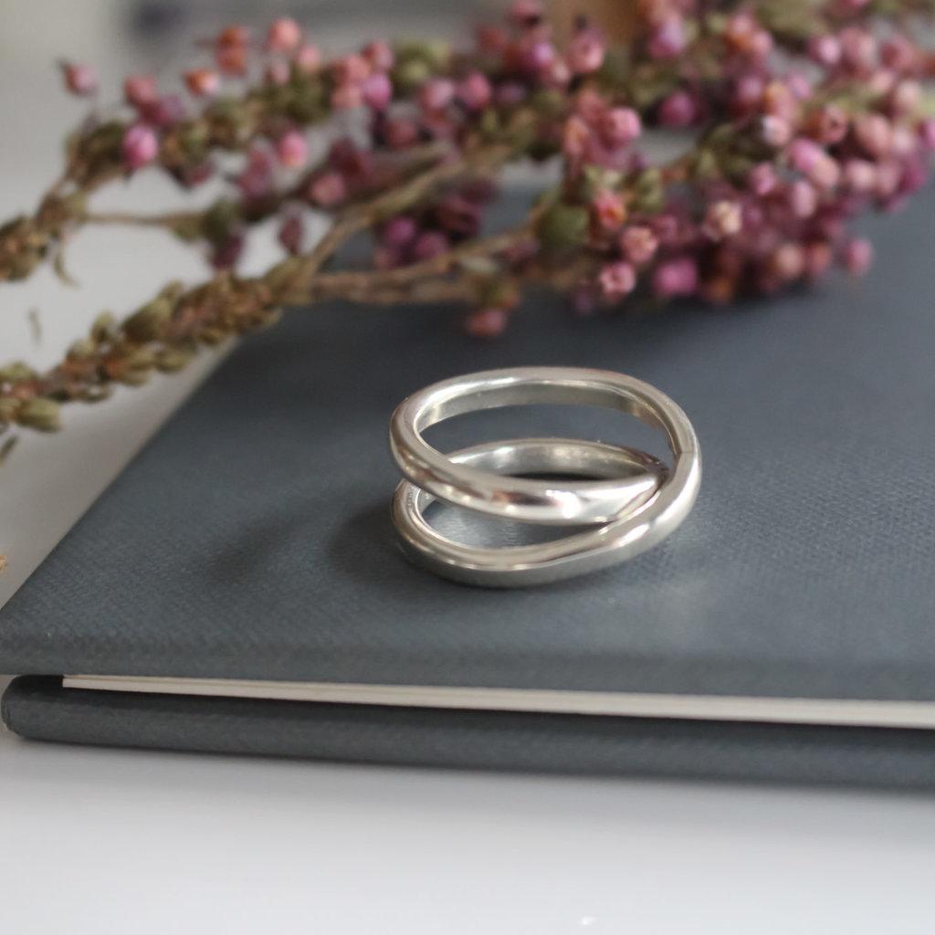 Amor Silver Sophia Ring