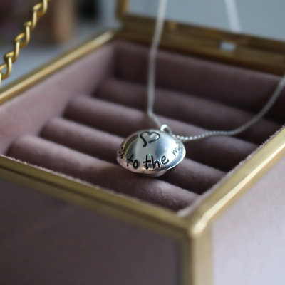 Joulberry Moon Poem Petite Locket