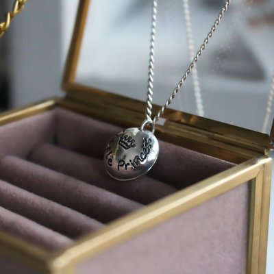 Joulberry Princess Poem Petite Locket
