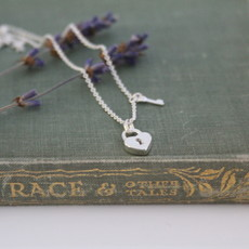 MADISON Silver Polly Locket Necklace