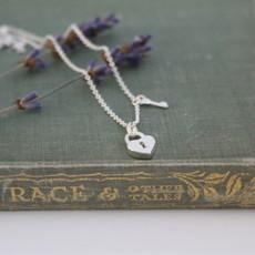 Silver Polly Locket Necklace