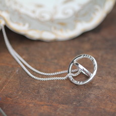 PERSONALISED Silver Sphere Necklace