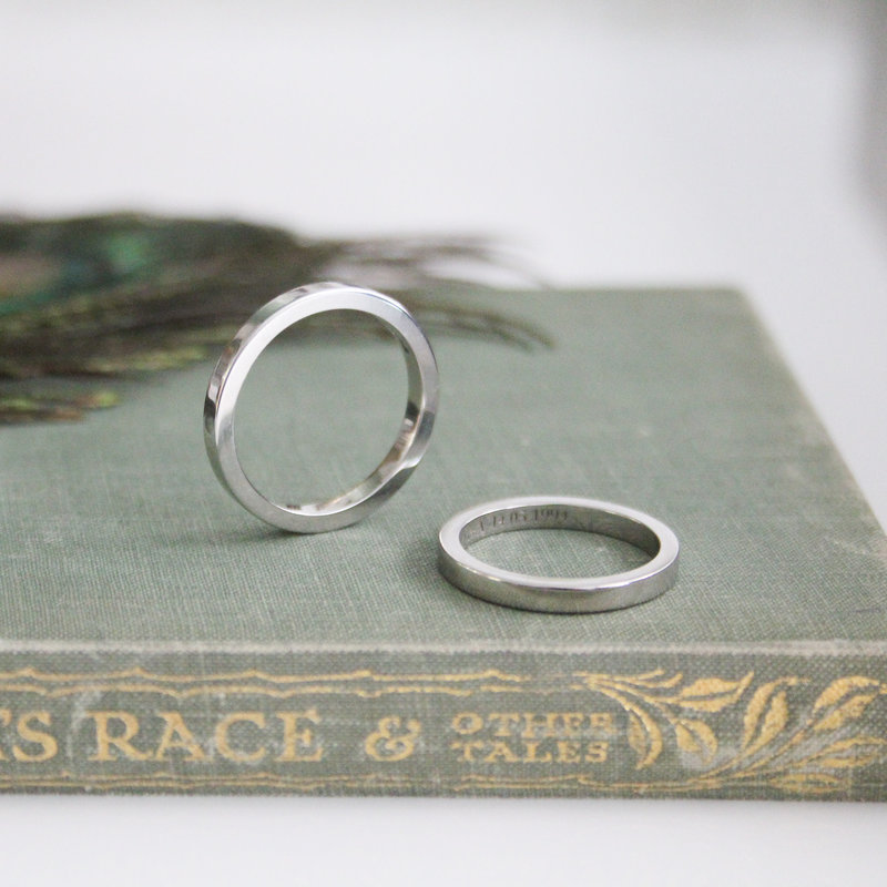 ARROMA Platinum Ring