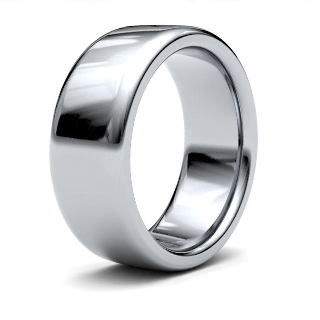 ERROS Platinum Ring 8mm