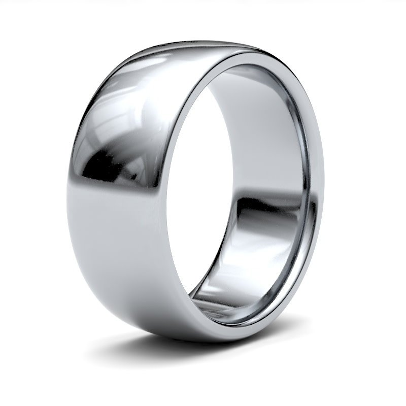 BONDD Platinum Ring 8mm