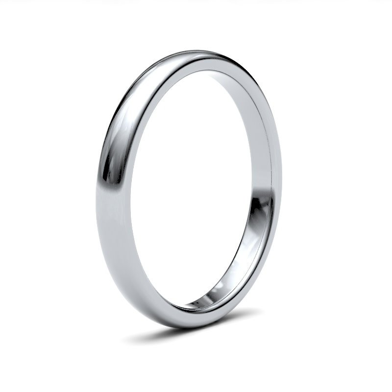 BONDD Platinum Ring 2.5mm