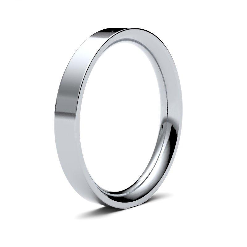 FORDE Platinum Ring 3mm