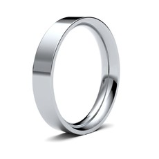 FORDE Platinum Ring 4mm