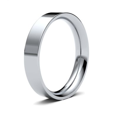 FORDE Platinum Ring 4mm