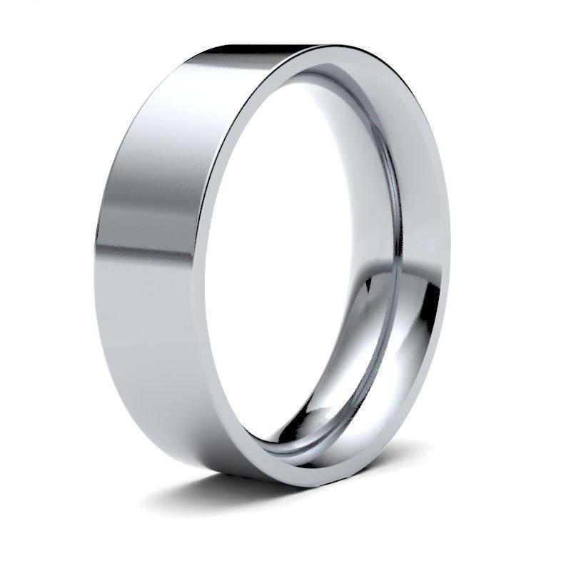 FORDE Platinum Ring 6mm