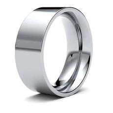 FORDE Platinum Ring 8mm