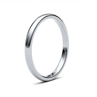 BOTANICA Platinum Ring 2.5mm