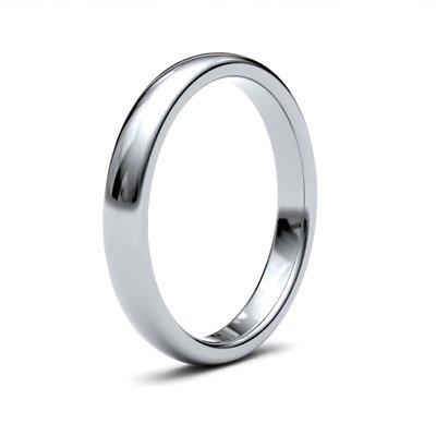 BOTANICA Platinum Ring 3mm