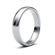 BOTANICA Platinum Ring 4mm